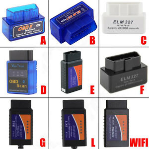 Elm327 V2 1 Obd2 Can Bus Bluetooth Wifi Car Auto Diagnostic Interface Scanner Hf