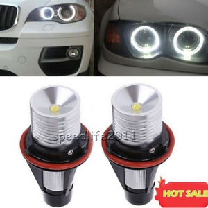 Hot For Bmw Angel Eyes Halo White Led Ring Marker Light Bulbs X5 E39 E60 E63