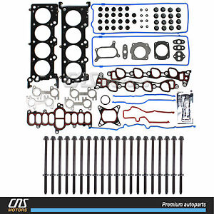 Head Gasket Set Head Bolt 95 00 Ford Crown Victoria Town Car Grand Marquis 4 6