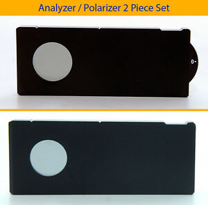 Mitutoyo Polarizer rot Analyzer Set Cross Polarization Pol Dic M Bd G Plan Apo