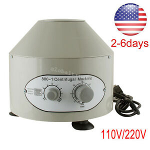 Nice 110 220v Electric Solid Centrifuge Machine 4000rpm Lab Medical Practice Usa