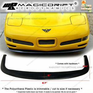 For 97 04 Chevy Corvette C5 Cs Style Front Bumper Lip Splitter Diffuser Urethane