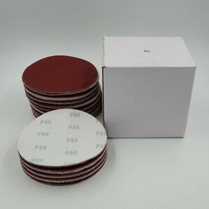 100 Pcs 6 Da Hook Loop Sandpaper Sanding Discs Sand Sheet Grit 40 2000