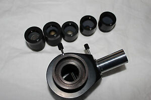 Lomo Microscope Mfn 10 Micro Photo Attachment Adapter Mikroskop Adapter
