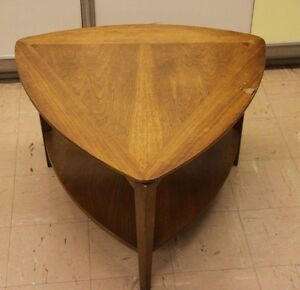 Vintage Lane Guitar Pick Triangle End Side Table Mid Century Modern 60 S