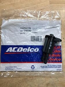 Acdelco 214 1105 Vapor Canister Purge Valve Gm Oe 12581282