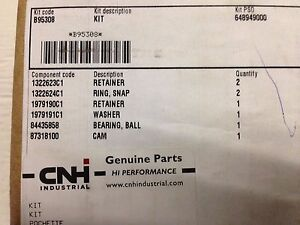 Case Ih Combine Right Hand Shaker Arm Cam Kit Part Number B95308