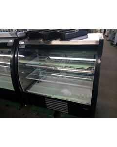 New howard Mccray Mirage 4 dc Curved Glass 48 Deli bakery Case