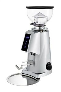 Fiorenzato F4 V2 Electronic Espresso Grinder Silver new Authorized Seller