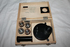 Lomo Microscope Phase Contrast Kf4 Full Set With Objectives Aux Mikroskop 9