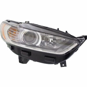 Rh Right Passenger Side Headlight Assembly For 2013 2014 2015 2016 Ford Fusion