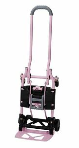 Cosco Shifter Multi position Heavy Duty Folding Hand Truck And Dolly Pink New