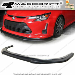 For 14 15 16 Scion Tc Urethane Ad Style Front Bumper Lip Chin Spoiler Splitter