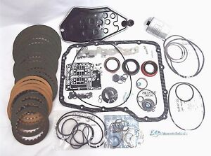 Dodge Jeep 45rfe Transmission Banner Rebuild Kit W Both Oil Filters 99 2003 4wd