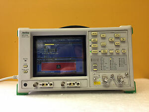 Anritsu Mp1550a options 01 03 04 06 08 10 Pdh Sdh Analyzer Mp0110a Module