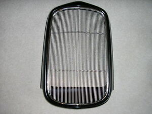 1932 Ford Filled Grille Shell Ss Insert 32 Rat Hot Rod Coupe Roadster 32