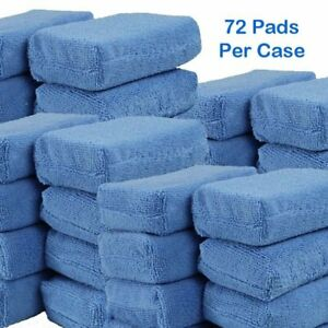 Microfiber Applicator Pad 4 x6 x1 75 Wholesale Case Pricing 72 Pads