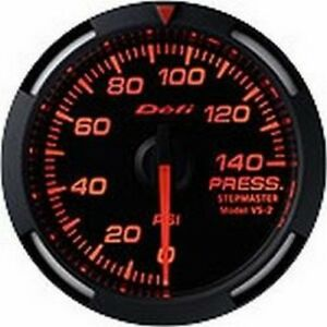 Defi Red Racer Gauge 52 Press