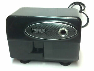 Panasonic Electric Pencil Sharpener With Auto stop Model Kp 310 Matsushita Black