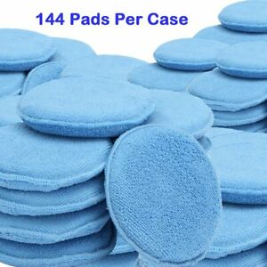 Premium Microfiber Applicator Pad Round 5 Wholesale Case Price 144 Ea