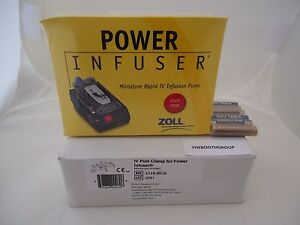 Zoll Power Infuser m100b 3a With Iv Pole Clamp 1110 0070 new sealed