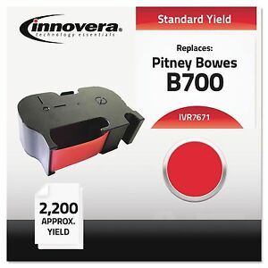 Innovera 7671 7671 Compatible Remanufactured 767 1 Postage Meter 2200