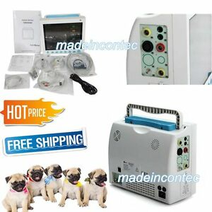 6 Parameters Vital Signs Patient Monitor Vet Veterinary Use Contec Fda Us 2018