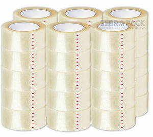 36 Roll Packing Packaging Carton Box Tape 2 Mil 2 X 110 Yard Rm