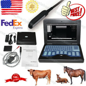 Vet Veterinary Notebook B ultrasound Diagnostic System rectal Probe animals Use