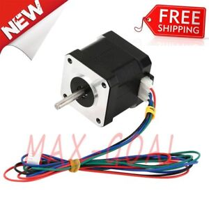 Lot Nema 17 Stepper Motor Bipolar 84oz in 59ncm Cnc 3d Printer Reprap Robot Usa