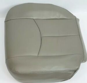2003 2004 2005 06 Chevy Tahoe Suburban Driver Bottom Replacement Seat Cover Gray
