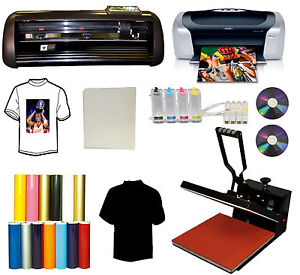 13 Metal Pu Vinyl Cutter Plotter 15x15 Heat Press printer cartridges vinyl sign