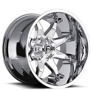 New 4 Off Road 18 Fuel Wheels D508 Octane Chrome Rims