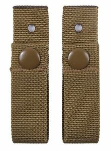 Coyote Brown MICH Helmet Goggle Straps - Military Communications Helmet Strap