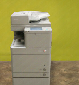 Canon Imagerunner Advance C5250 All In One Copier Printer Scan Mfp Color Usb
