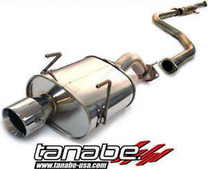 Tanabe Medalion Touring Exhaust System 92 95 Honda Civic Hatchback
