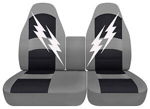 1993 2004 Ford F150 Lightning Car Seat Covers Bucket 40 60 Choose Your Color