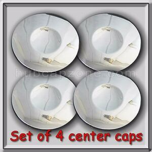 4 Chrome 1997 1998 Buick Riviera Center Caps Hubcaps For Riviera Chrome Wheel