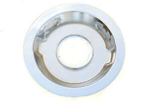 14 Chrome Recessed Air Cleaner Base 5 1 8 Neck 4 Barrel Chevy Ford Mopar Dodge