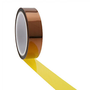 Ultra High Temp Polyimide Tape 5mm 12 7mm 25 4mm 30mm 50mm Pcb Masking Coating