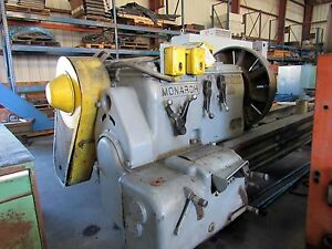 16698 37 X 204 Monarch Engine Lathe