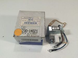 Transpo Fb123 J N 230 14021 Mc Voltage Regulator 12v B Circuit Ford 65 90a Alt