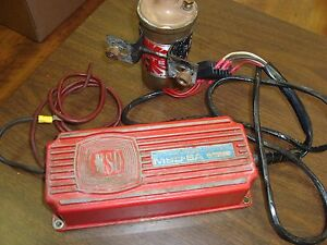 Vintage Msd 6a Multiple Spark Discharge Electronic W blaster 8203 working