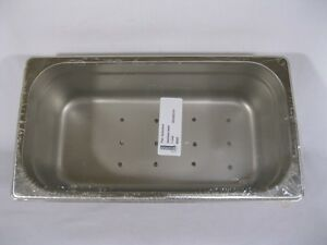 Instrument Tray autoclave Pan Stainless Steel 12 3 4 X 7 X 4