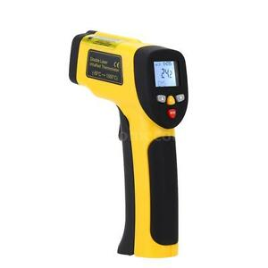 Double Laser Non contact Digital Infrared Thermometer Pyrometer 58 1922 f