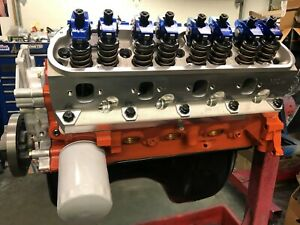 351w 427 Small Block Ford Long Block Race Prepped makes 500 hp trickflow Head