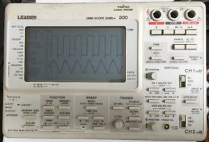 Leader Dmm scope 30ms s With Multimeter