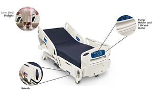 Stryker Hospital Bed Motorized Gobed Ii Med surg Fl28ex Residential Hospita Bed