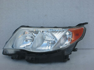 2009 2010 2011 2012 Subaru Forester Headlight Front Headlamp Oem 09 10 11 12
