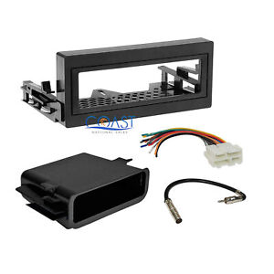 Car Radio Stereo Dash Kit Pocket Wire Harness For 1995 up Gmc Chevy Cadillac